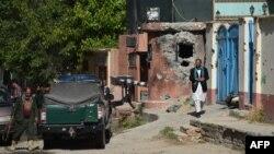 Աֆղանստան - Քաբուլի «Հիթալ» հյուրատունը փոխհրաձգությունից հետո՝ այսօր առավոտյան