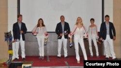 Vestimentația olimpică a echipei R. Moldova (Foto: Eduard Baygu)