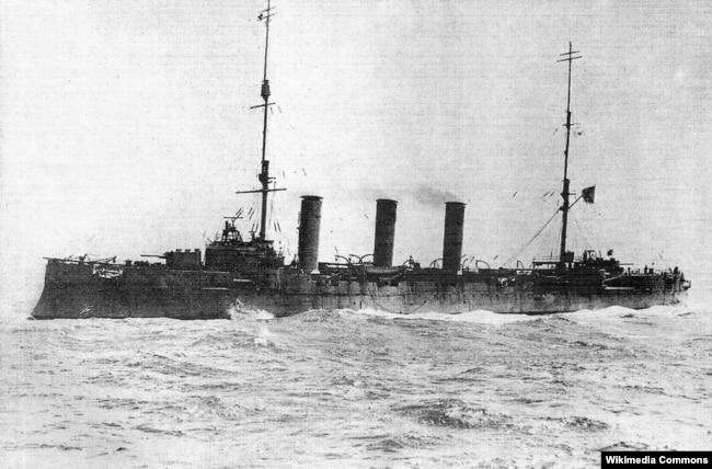 Крейсер «Память Меркурия» Черноморского флота