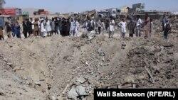 عیني شاهدان وايي چې د کابل ښار د تېري شپې چاودنه ډېره قوي وه چې غږ یې هم د کابل ښار لیري سیمو کې هم اورېدل شوی