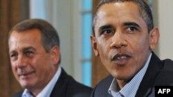 Джон Бенер и Барак Обама