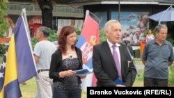 Boriša Arnaut prisustvovao je ispraćaju biciklista u Kragujevcu