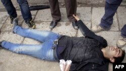 Повреден демонстрант на протестите во Ирак