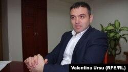 Виорел Четрару, начальник Молдавского национального антикоррупционного центра. Кишинев, 7 февраля 2013 года.