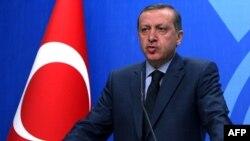 Премиерот на Турција Реџеп Таип Ердоган