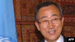 Sekretari i përgjithshëm i OKB-së, Ban Ki Moon
