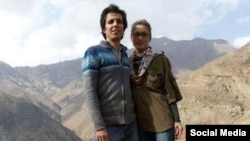 Amirhossein Mohammadifard (left) and Sanaz Allahyari were two of the journalists sentenced.