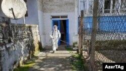 Ադրբեջան - Կորոնավիրուսի կապակցությամբ սանիտարական ծառայություններն ախտահանման աշխատանքներ են կատարում, Աստարա, արխիվ