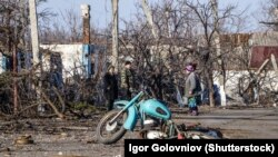 "Село Никишино, територия ""ДНР"""