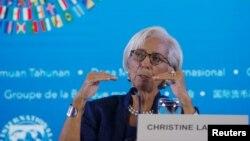 Эл аралык валюта фондунун жетекчиси Кристин Лагард