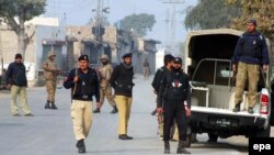 Pjesëtarët e ushtrisë së Pakistanit