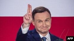 Анджей Дуда. Варшава, 24-май 2015