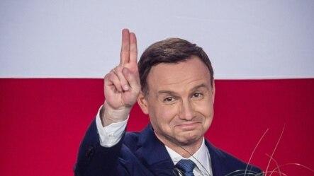 Andrzej Duda, după anunțul rezultatelor exit-poll-ului