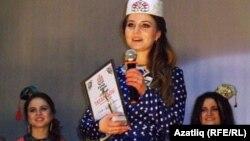 Бәйгедә җиңүче Лиана Гайнетдинова