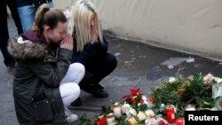 La locul tragediei de la Berlin