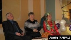 Ибраһим Биектаулы, Гөлфия Исхакова һәм Шәфига Таҗетдинова