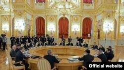 Евразия Экономикалык кеңешинин саммити. Москва, 23-декабрь, 2013-жыл.