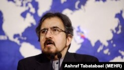 Iranian Foreign Ministry spokesman Bahram Ghasemi (file photo)