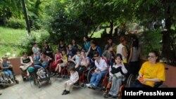 გლდანის სოციალური ადაპტაციის ცენტრის პაციენტები