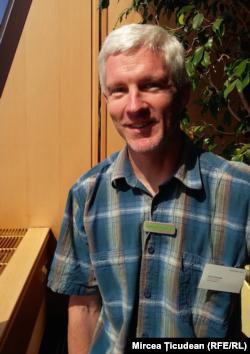 David Murphy, șeful filialei din Cehia a organizației Greenpeace