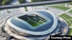 2018 елгы Дөнья футбол беренчелеге өчен тәкъдим ителгән стадион проект