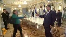 Poroshenko: No Peace Until Kyiv Regains Control Of Border