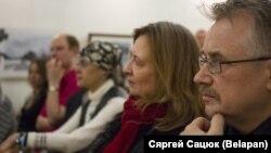Людміла Рублеўская і Віктар Шніп