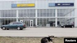 Россиядаги General Motors дилерларидан бирининг биноси.