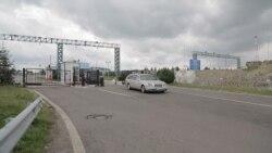 Пункт пропуску «Краковець», через який їхатиме Саакашвілі, обгороджений колючим дротом (відео)