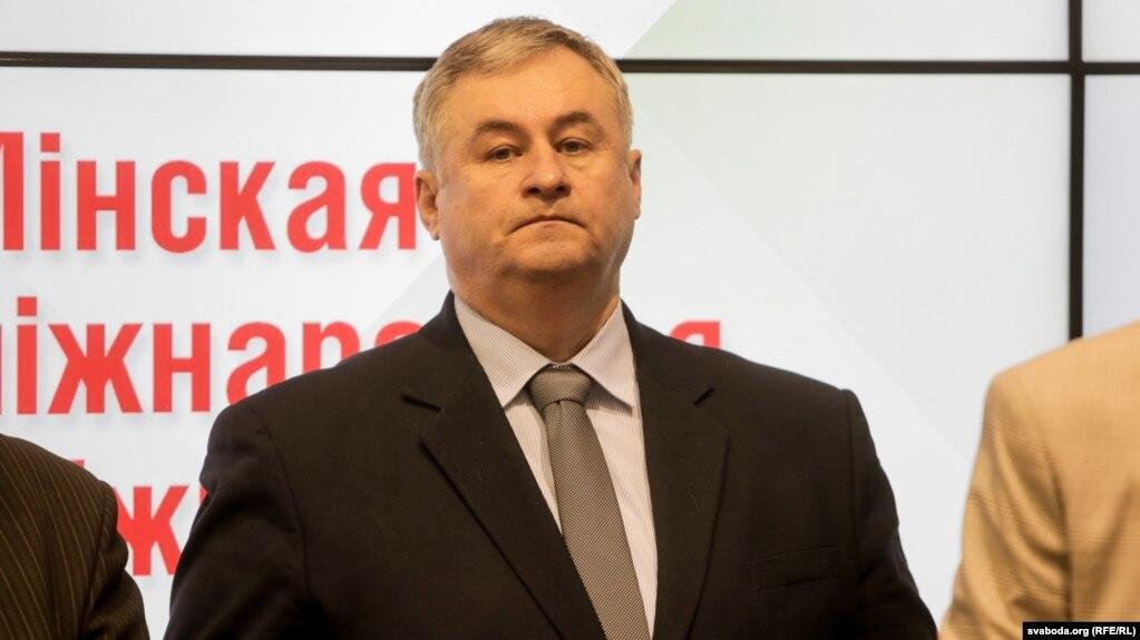 Аляксандар Карлюкевіч на Міжнароднай кніжнай выставе 2018 году