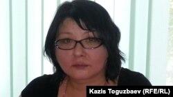 Гузяль Байдалинова, собственник сайта Nakanune.kz. Алматы, 8 июня 2015 года.