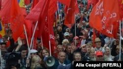 La protestele socialiștilor de duminică