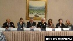 Sudionici okruglog stola o suđenjima za ratne zločine