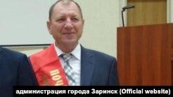 Мэр Заринска Иван Терёшкин после присвоения звания