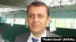 Дилшод Қурбонов - сардори Раёсати ҷавонон, варзиш ва сайёҳии шаҳри Душанбе