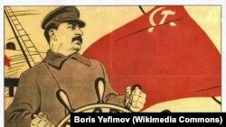 Stalin. SSRİ. İllüstrasiya.
