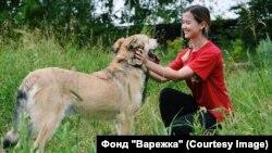 Татьяна Халева с донором Йодой