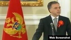 Filip Vujanović drži inauguracioni govor