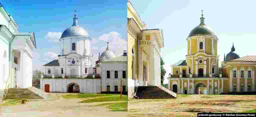 Nilov Monastery in Tver, Russia. 1910/2010