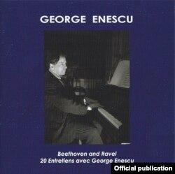 Coperta primului volum Enescu la casa Meloclassic