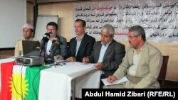 ممثلو منظمات مدنية في لقاء لإعلان إتحاد منظمات مناهضة الإبادة الجماعية في كردستان