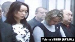 Серік Ахметов пен өзге адамдардың соты. Қарағанды, 11 желтоқсан 2015 жыл.