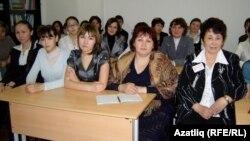 Татар теле һәм әдәбияты өлкә олимпиадасында катнашучылар