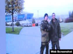 «Донбас-Арена» на задньому плані підтверджує: Кафка був на окупованій території