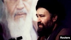 Ahmad Khomeini, the son of Iran's late leader Ayatollah Khomeini,