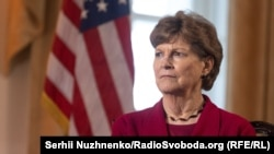 """U.S. Senator Jeanne Shaheen in Kyiv: """"I intend to do everything I can to try and stop the [Nord Stream 2] pipeline."""""""