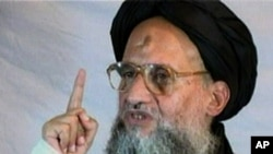 A December 2005 video grab shows Al-Qaeda's then-deputy leader, Ayman al-Zawahri
