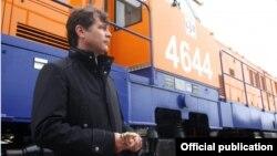 Угис Магонис, экс-глава Latvijas Dzelzceļš фото Diena