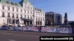 Protest la Iași, august 2019