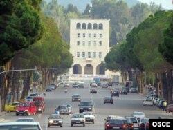 Pamje nga Tirana (foto nga arkivi)